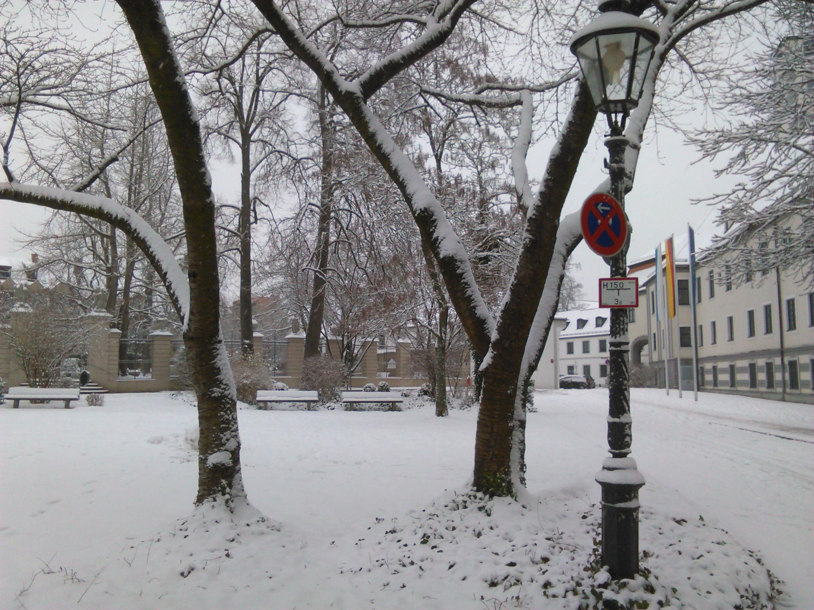 Augsburg im Schnee