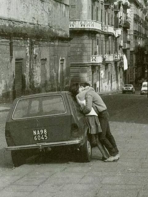 Neapel früher - Napoli vecchia
