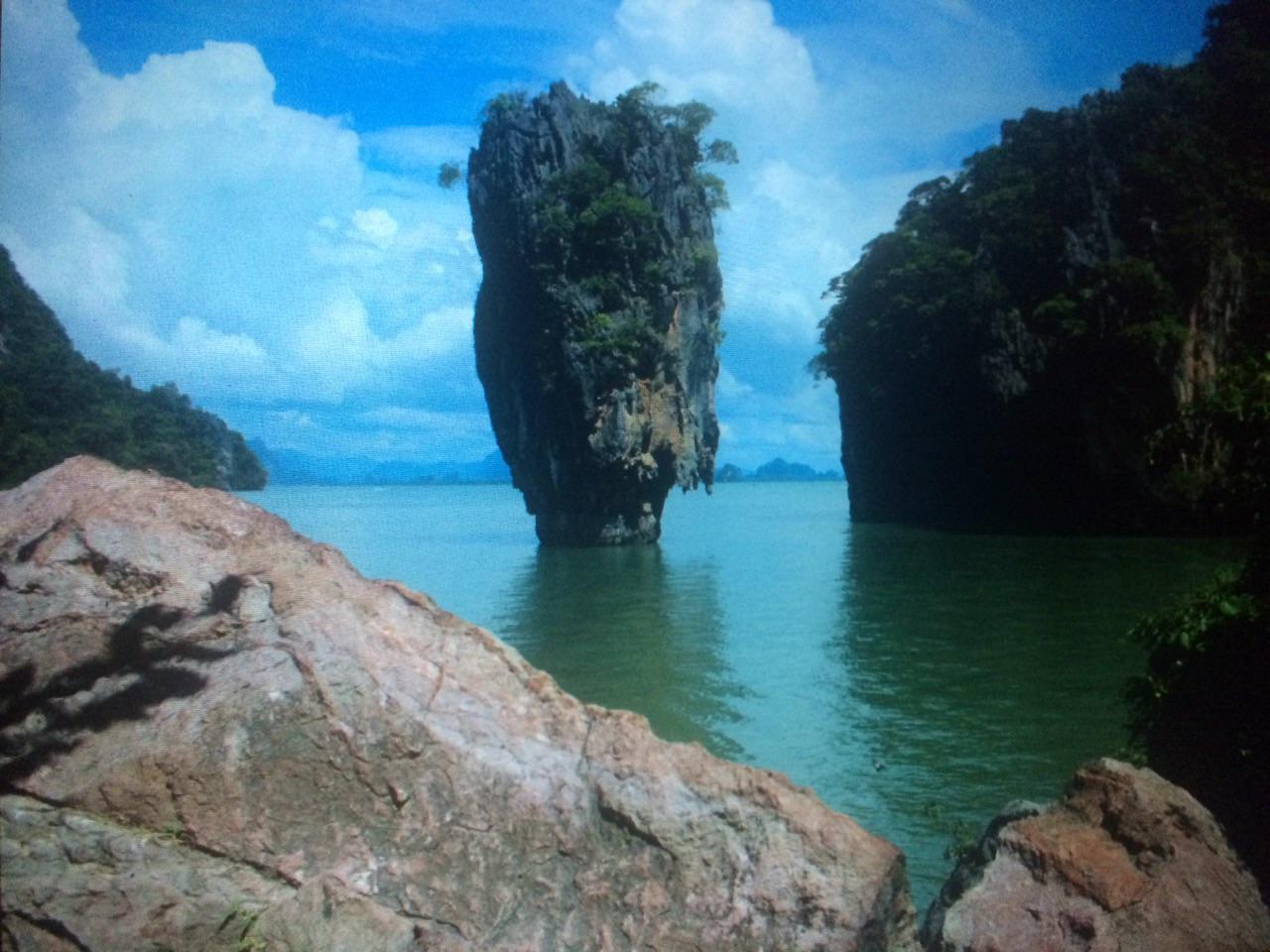 Blaues Meer in Thailand