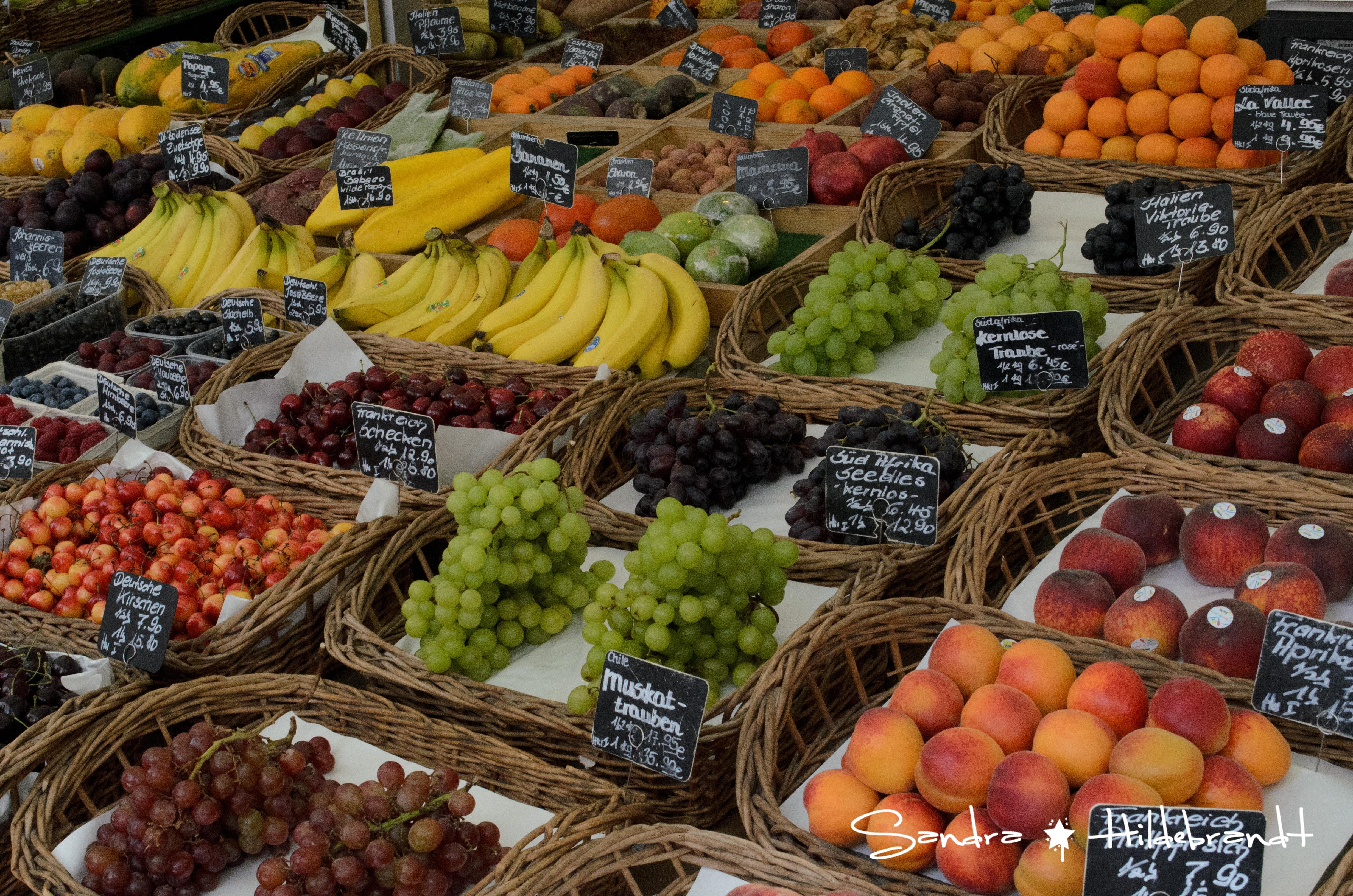 München / Munich - Obst und Gemüse